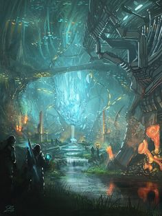 Sanctuary of the Ancients by whatzitoya.deviantart.com on @deviantART