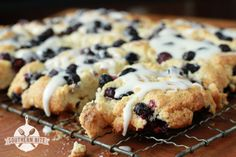 Blueberry Pull-Apart Biscuits!!