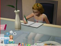 My Sims 4 Blog: Updated - Notebook V2 by plasticbox