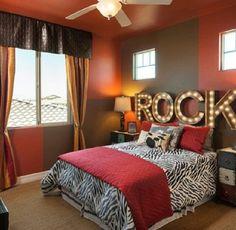 Rock bedroom