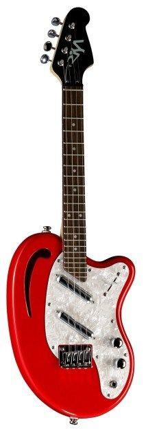 DaSilva electric ukulele. ELECTRIC?! Whooooa.