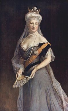 Philip Alexius de László, MVO (1869-1937) — Auguste Viktoria, Deutsche Kaiserin, 1908   : Huis Doorn, Doorn. Netherlands (572×936)