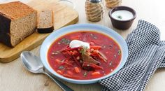 Czech Recipes, Ethnic Recipes, Thai Red Curry, Penne, Food And Drink, Soup, Yummy Food, Baking, Diet