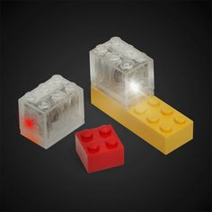 STEM with Legos? Try Motion activated LED Construction Brick Brites to LEGOs! (via from thinkgeek via bit rebels)