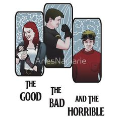 The Good, The Bad, and the Horrible