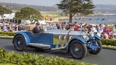 Best of Show at the Pebble Beach Concours d'Elegance 2017 was awarded to the 1929 Mercedes-Benz S Barker Tourer owned by Bruce R. McCaw of Bellevue, Washington. Steve Burton, Mercedes Benz, New Hampshire, New Jersey, Monaco, Lincoln, Portland, Monmouth Beach, Hispano Suiza