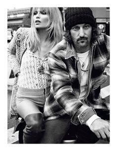 """I ♥ NY"" : Natasha Poly : Vogue Paris February 2013 : Terry Richardson"