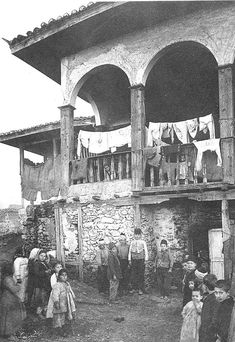 pictures remain b&w until hovered over, alludes to how the past remains b&w and 'separated' until we actually go back and experience it Thessaloniki, Ottoman Empire, Historical Pictures, Albania, Athens, Futuristic, Istanbul, Egypt, Greece