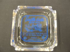 Vintage Clear Glass Square South Gate Motor Hotel AAA Glebe Road Washington D.C