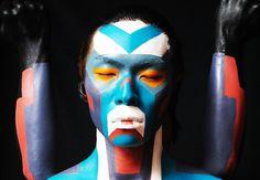 Through modification of the human body Takahito Irie creates a utopia of the perfected human machine.