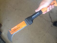 """""""Zombie knife"""" is what this was pinned as by some loser. This is a $20 hedging machete from Walmart. I've used this thing for yard work. Incredible  Update: What makes this that much better is that idiots STILL keep pinning this to their grungy little tacticool zombie folders. Unbelievable."""