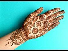 simple Arabic mehndi designs for hands 2019 _ latest Mehndi Designs Simple Arabic Mehndi Designs, Mehndi Designs For Fingers, Beautiful Mehndi Design, Best Mehndi Designs, Dulhan Mehndi Designs, Bridal Mehndi Designs, Mehendi, Bridal Henna, Mehandi Designs
