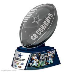 Reflections Of Pride Dallas Cowboys Football Sculpture
