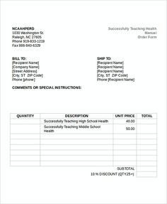 free printable invoice template microsoft word