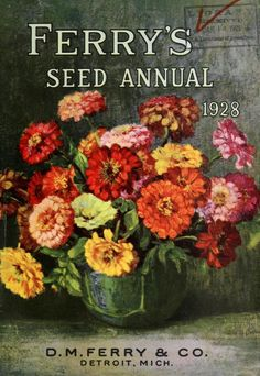 D.M. Ferry & Co,'s - Seed annual, 1928