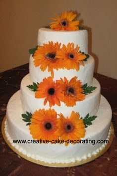 Fall wedding cakes – Free easy ideas for decorating a fall themed ...