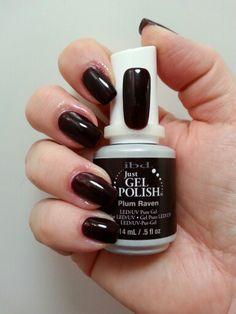 IBD Beauty Just Gel Polish Plum Raven #56506