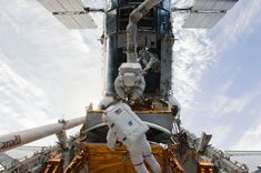 This week in 2009, space shuttle Atlantis, mission STS-125, landed at Edwards Air Force Base in California following a successful 12-day mission to service the Hubble Space Telescope. Edwards Air Force Base, Nasa History, Air Force Bases, Star Trek Enterprise, Hubble Space Telescope, Space Shuttle, Space Travel, Atlantis, Astronomy