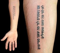 amazing hebrew lettering tattoo on forearm forearm tattoos flower tattoos finding yourself design