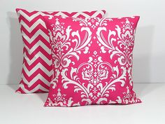 34 Best Hot Pink Throw Pillows Images Pink Throw Pillows