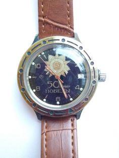8983a2d1853 watch Аmphibian 2914 Vintage watch Soviet watch Relógios Antigos