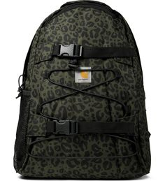 Cypress Panther Print Kickflip Backpack
