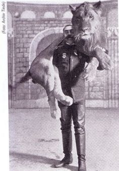 Bostock Circus Lion Act