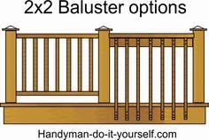 of Deck Railing Ideas and Designs Deck Building Plans, Building A Pool, Deck Plans, Backyard Projects, Outdoor Projects, Railing Flower Boxes, Cabin Decks, Under Decks, Deck Railings