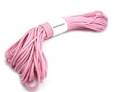 WINGONEER 550 Paracord Mil Spec Type III 7 strand parachute cord Pink 100 feet * Click on the image for additional details.(This is an Amazon affiliate link)