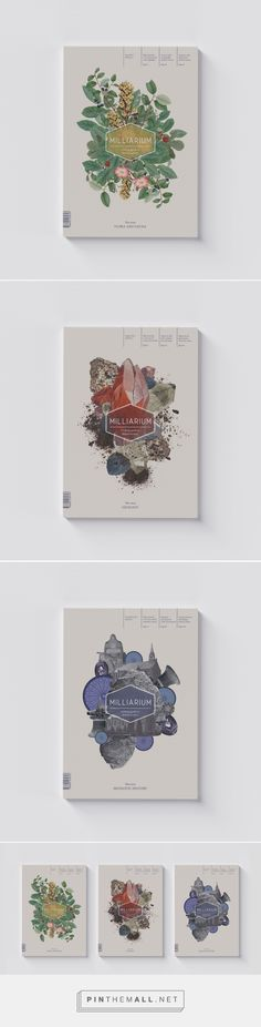 Milliarium Magazine on Behance - created via https://pinthemall.net