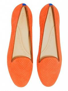 Chatelle Alphonse via mychatelle --- in love with colorful flats for the summer --- french chic flats