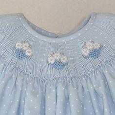 dots and smocking Smocking Plates, Smocking Patterns, Sewing Patterns, Skirt Patterns, Coat Patterns, Blouse Patterns, Little Girl Dresses, Girls Dresses, Smocked Baby Clothes