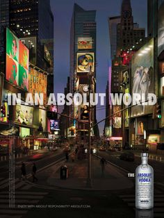absolut times square