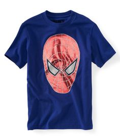 spider-man™ face graphic t
