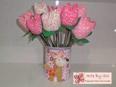 pote de sorvete decorado com toalhinha - Pesquisa Google