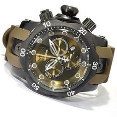Invicta Reserve Mens Venom Swiss Made Quartz Chronograph Stainless Steel Strap Watch