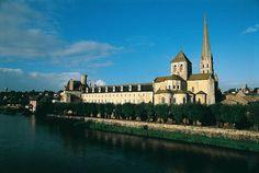 Abbey Church of Saint-Savin sur Gartempe, France #UNESCO