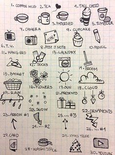 Doodle art and bullet journals go hand in hand. Discover 25 easy doodle art drawing ideas for your bullet journal. Learn how to draw the perfect doodle. Bullet Journal Décoration, Minimalist Bullet Journal, Easy Doodle Art, Doodle Art Drawing, Drawing Ideas, Arte Doodle, Planner Doodles, Doodle Lettering, Sketch Notes
