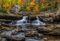 Grist Mill (rocky foreground)