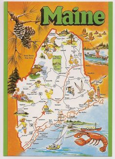 109 Best Vintage Road Maps Posters and Postcards images