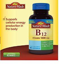 Nature Made Vitamin B-12 1000mcg 400 Softgels * Visit the image link more details.