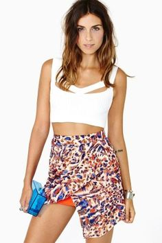 Animale Skirt by #Premonition