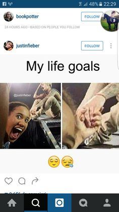 These my goals too lol