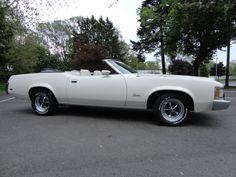 1973 Mercury Cougar convertible.