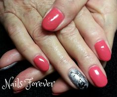 Gel polish nails 2014 - Panda Bear Nails