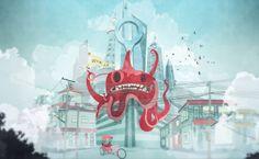 eye-candy-riffic recruiting spot from Wieden + Kennedy Shanghai