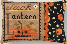 Do something different with your Halloween cross stitch project!