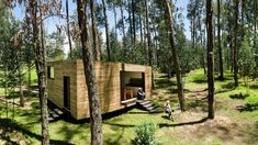Architects Luis Velasco Roldan and Ángel Hevia Antuña have built a prototype house designed for Ecuador's climate and social conditions. The small house is made from locally-sourced, natural materi...