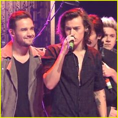 The guys of One Direction - Harry Styles, Liam Payne, Zayn Malik, Niall Horan, and Louis Tomlinson - hit the ...