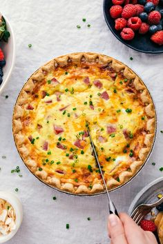 Ham And Cheese Quiche Recipe No Crust.Low Carb Crustless Ham And Cheese Quiche Skinnytaste. Akers Of Love: Ham And Spinach No Crust Quiche. Akers Of Love: Ham And Spinach No Crust Quiche. Breakfast Quiche, Breakfast Dishes, Breakfast Time, Breakfast Recipes, Hashbrown Breakfast, Ham And Cheese Quiche, Ham And Swiss Quiche, Quiche Pastry, Egg Quiche